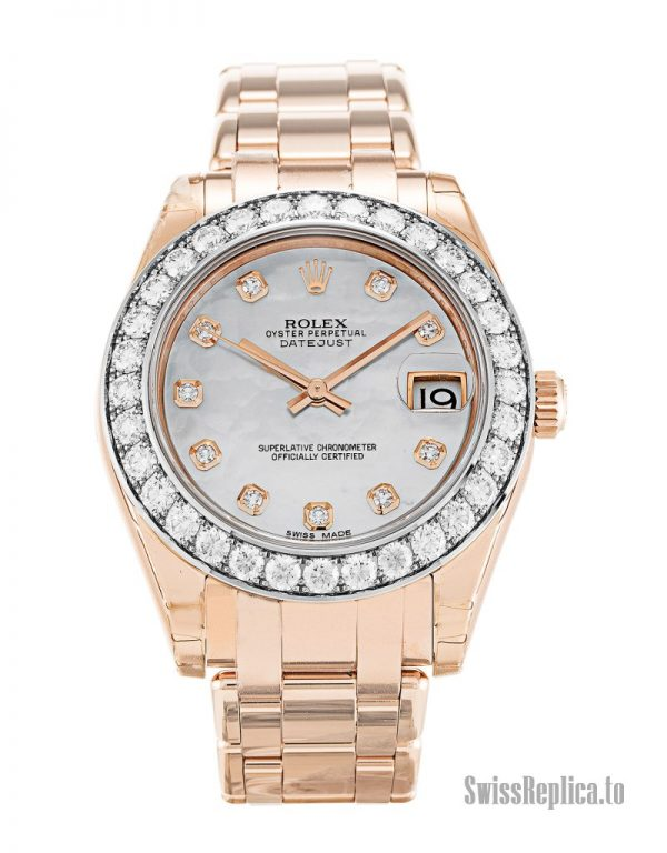Rolex Pearlmaster 81285 Women Automatic 34 MM-1