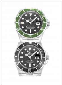 Submariner 116610 Black and white
