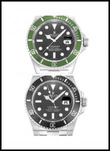 Submariner 116610 Black and white
