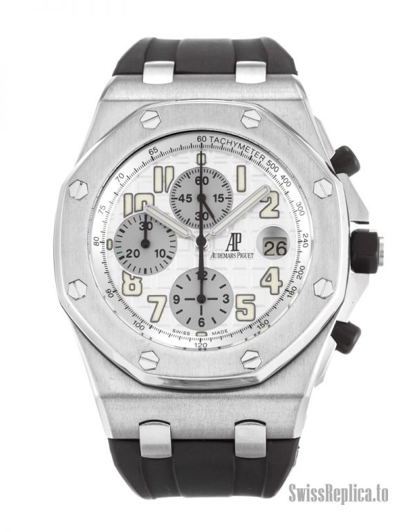 Audemars Piguet Royal Oak Offshore 26020ST.OO.D001IN.02 Men Quartz 42 MM-1