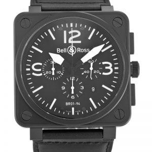 Bell and Ross BR01-94 Chronograph Carbon Men Quartz 46 MM-1