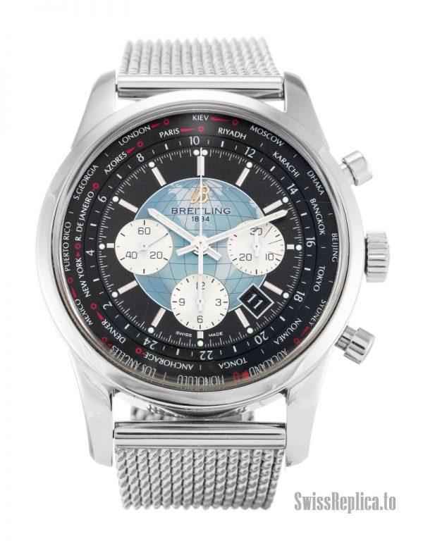 Breitling Transocean Chronograph AB0510 Men Quartz 46 MM-1
