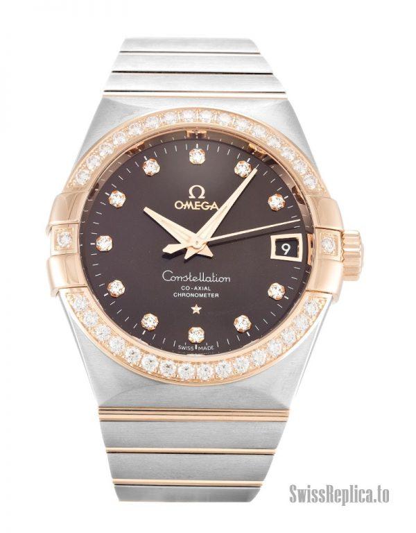 Omega Constellation Chronometer 123.25.38.21.63.001 Men Automatic 38 MM-1