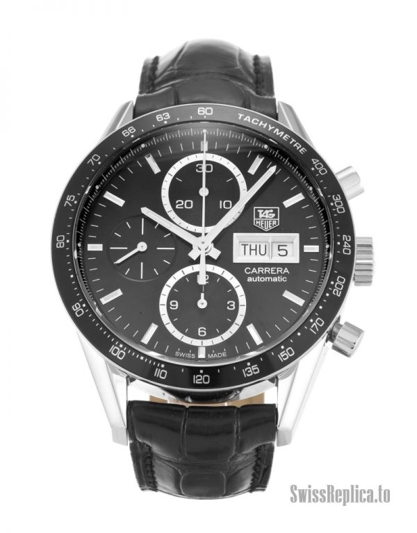 Tag Heuer Carrera CV201AG.FC6266 Men Automatic 41 MM-1