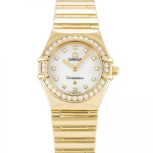 Omega Constellation Mini 1164.75.00 Women Quartz 22.5 MM-1