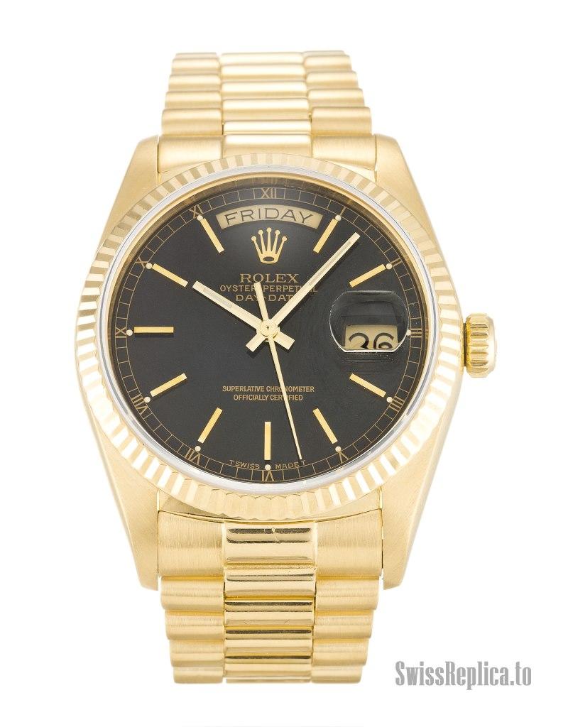 18k gold replica rolex watches