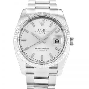 Rolex Oyster Perpetual Date 115210 Unisex Automatic 34 MM-1