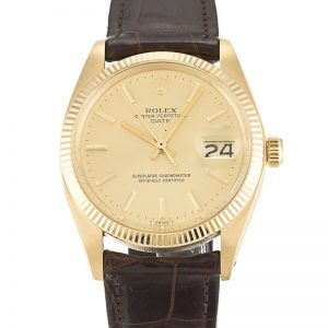 Rolex Oyster Perpetual Date 1503 Men Automatic 33 MM-1