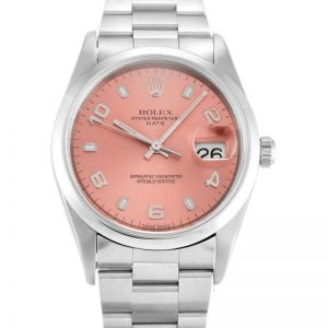 Rolex Oyster Perpetual Date 15200 Unisex Automatic 34 MM-1
