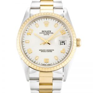 Rolex Oyster Perpetual Date 15223 Unisex Automatic 34 MM-1