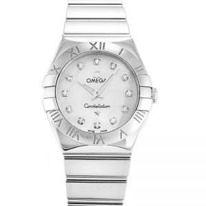 Omega Constellation Mini 123.10.24.60.55.002 Women Quartz 24 MM-1
