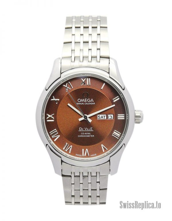 Omega De Ville Hour Vision 431.33.41.21.01.001 Men Automatic 41 MM-1