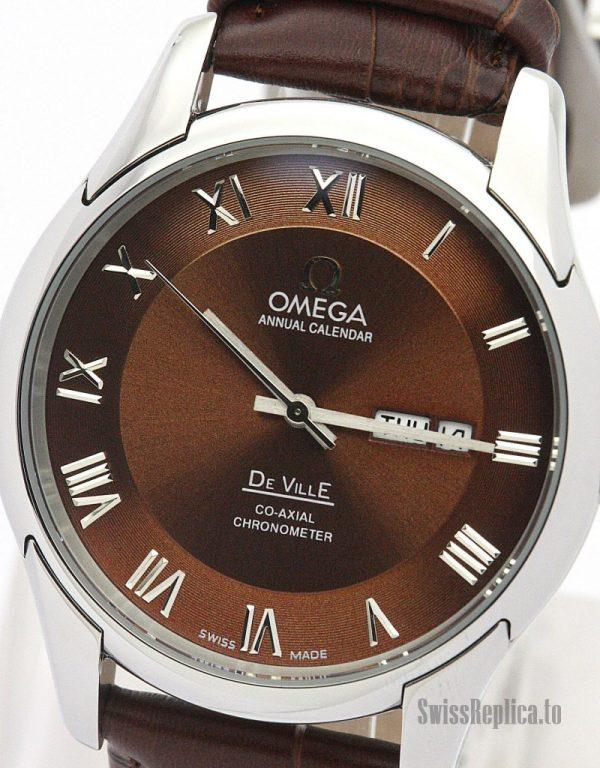 Omega De Ville Hour Vision 431.33.41.21.01.001 Men Automatic 41 MM-1_11
