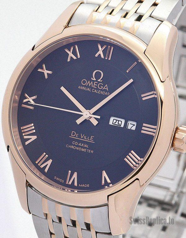 Omega De Ville Hour Vision 431.33.41.21.01.001 Men Automatic 41 MM-1_8