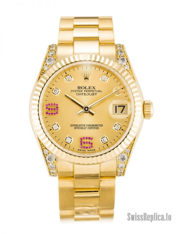 Rolex Mid-Size Datejust 178238 Women Automatic 36 MM-1